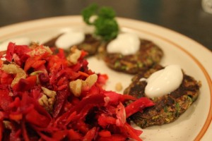 Isabel Essen_Healthy Eats _Zucchini and Feta Fritters
