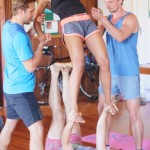 Isabel Essen Acro Yoga Cape Town Throne Pops