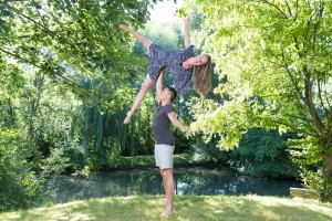 AcroYoga_High Side Star_Isabel and Graeme Essen